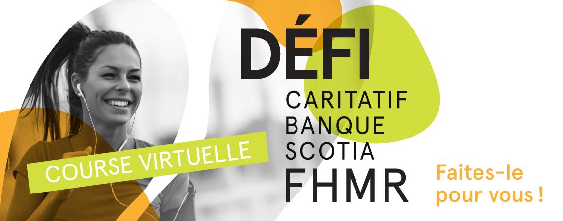 Défi caritatif Banque Scotia FHMR 2020
