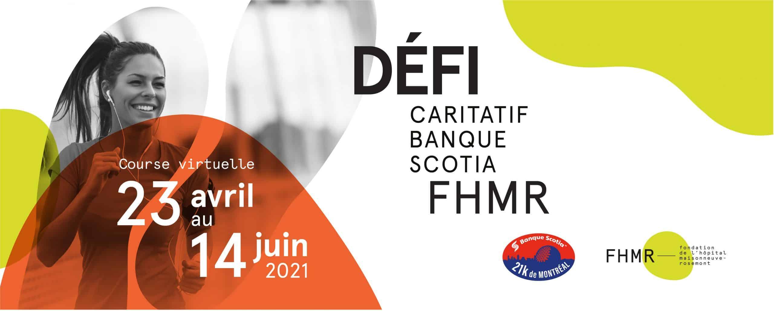 Défi caritatif Banque Scotia FHMR
