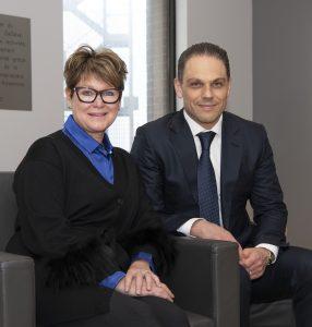 Sandra Chartrand et Laurent Ferreira