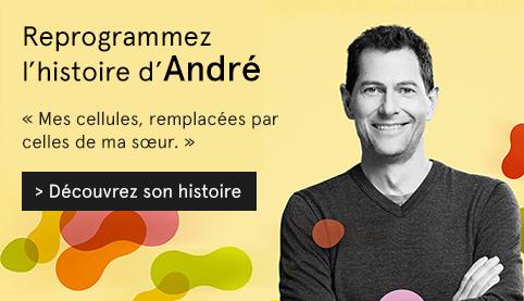 Visuel Reprogrammez l'histoire, photo d'André Papineau, patient de l'Hôpital Maisonneuve-Rosemont