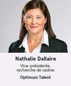 Nathalie Dallaire - membre du comité À Votre Santé!