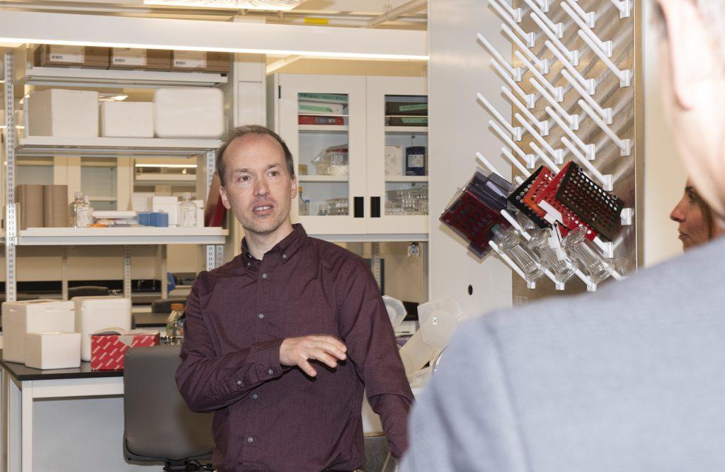 Présentation d'un laboratoire et d'un projet de recherche