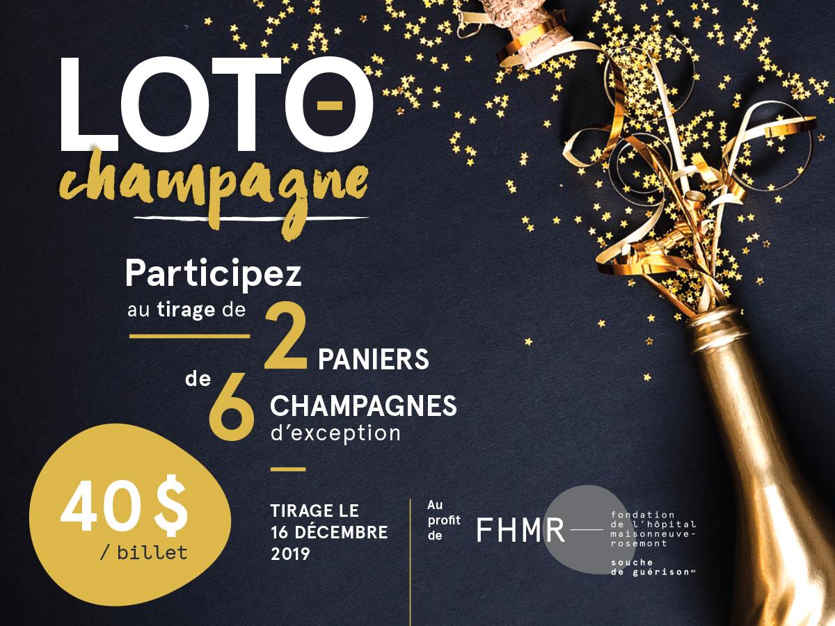 Loto-Champagne : participez au tirage de 2 paniers de 6 champagnes d'exception !