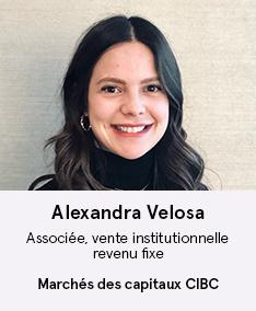 Alexandra Velosa - membre du comité À Votre Santé!