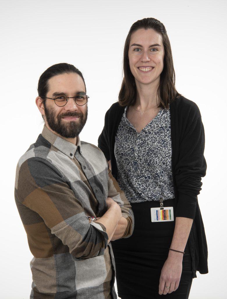 Mathieu Neault et Mary E. McQuaid