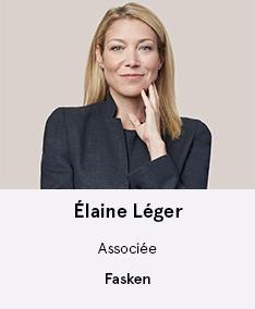 Me Élaine Léger - membre du comité À Votre Santé!