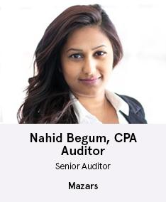 Nahid Begum, CPA