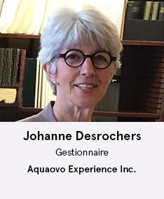 Johanne Desrochers - membre du comité À Votre Santé!