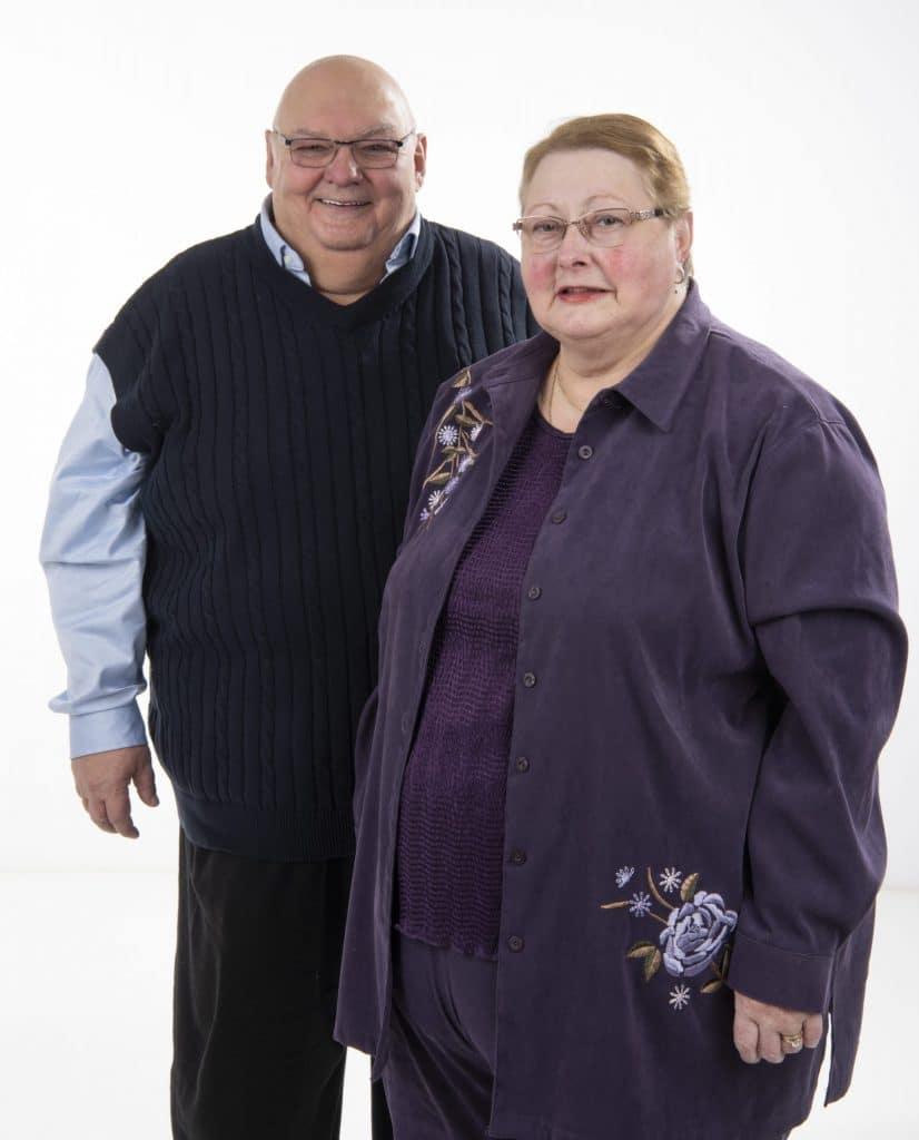 Jean Soucy et Francine Perreault