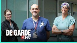 Photo des médecins de la série De Garde 24/7, diffusée à Télé-Québec.