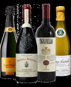 vins du Coffret dégustation Montréal Passion Vin 2020