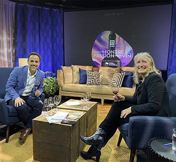 Sébastien Benoit et Véronique Rivest - Montréal Passion Vin 2020