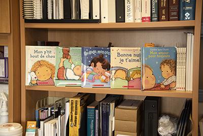 Livres offerts à la pédiatrie de l'HMR