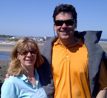 Photo de Nathalie Boyer-Moreau et de son mari, Robert