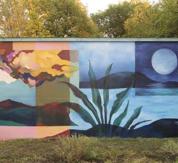 Murale pour les patients en cancérologie